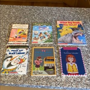 Lot of 6 beginner chapter books
